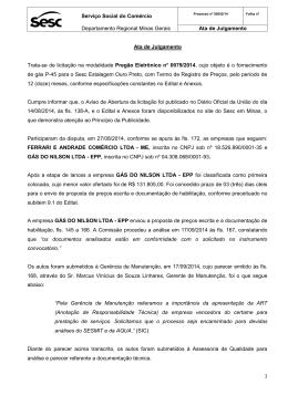 Serviço Social do Comércio Departamento Regional Minas