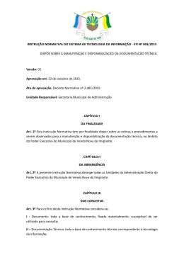 instrução normativa do sistema de tecnologia da informação