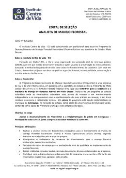 Carta Modelo ICV - Instituto Centro de Vida