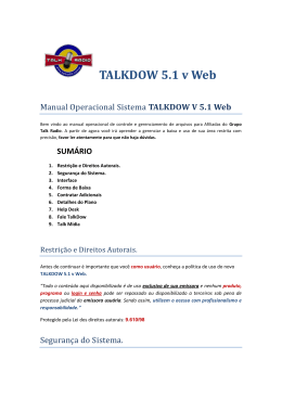TALKDOW 5.1 v Web - Grupo Talk Radio :: TALKDOW v 5.1 WEB