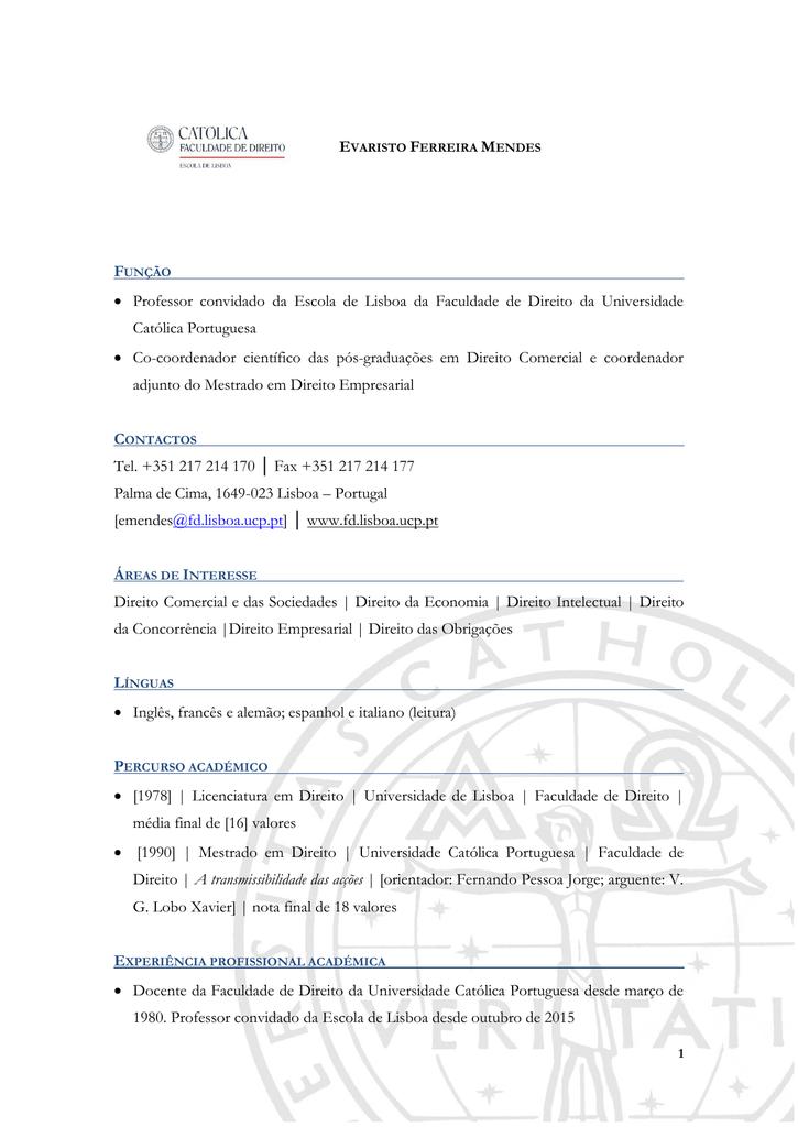 Português - Faculdade de Direito da Universidade Católica da694ae6a7bd3