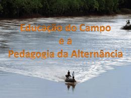 Educação do Campo e Pedagogia da Alternância