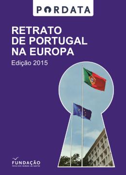 Retrato de Portugal na Europa PORDATA 2015 | 1