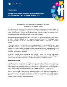Melhores Empresas para Trabalhar - GPTW Brasil