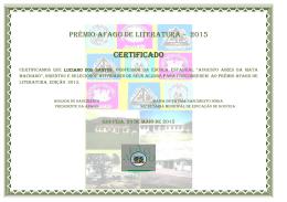 CERTIFICADO - afagouveia.org.br
