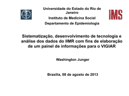Sistematização, desenvolvimento de tecnologia e análise dos