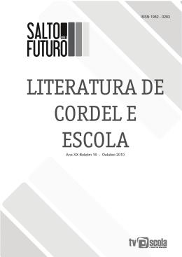 Literatura de Cordel e Escola - Portal do Professor