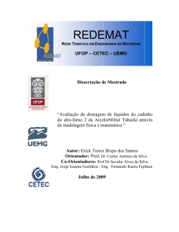 REDEMAT - RI UFOP