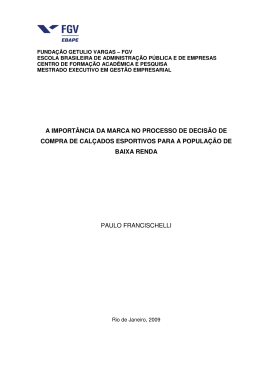 Paulo Francischelli - Sistema de Bibliotecas FGV