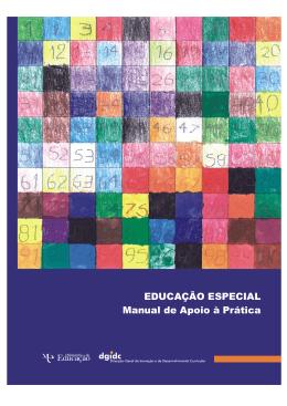 EDUCAÇÃO ESPECIAL Manual de Apoio à Prática