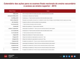 Calendário DGES.xlsx - Acesso Universidade