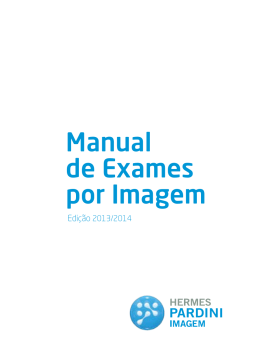 Manual de Exames por Imagem