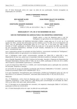 Art. 2º Esta Resolução entra em vigor na data de sua publicação