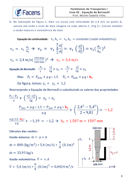 FT1 1S 2013 – Lista 02 Bernoulli (Resolucao Ex