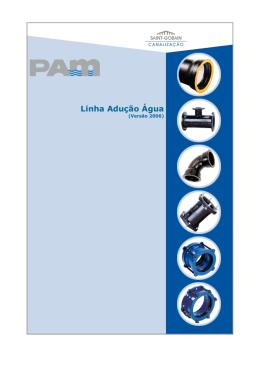 Catálogo Linha Adução Água