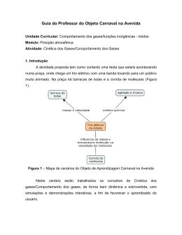 Guia do Professor do Objeto Cinética/Comportamto dos Gases