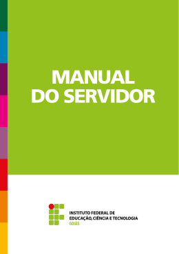 manual do servidor público