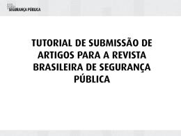 Apresentação do PowerPoint - Fórum Brasileiro de Segurança Pública
