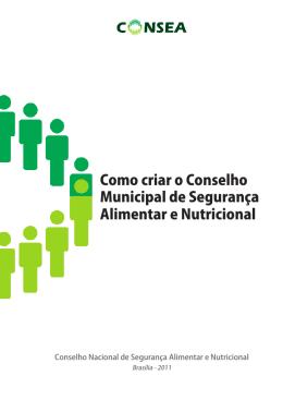 Como criar conseas municipais
