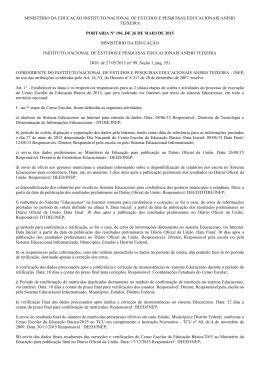 Portaria nº 196/2015
