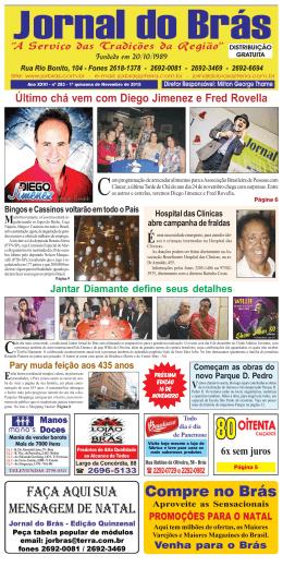 Edição 283 - Jornal do Brás