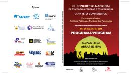 COMuNICAÇÃO CIENTÍFICA / THEMATIC SESSION