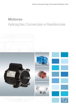 Motores Aplicações Comerciais e Residenciais