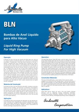Catálogo em PDF - Amboretto Bombas Ltda.