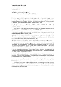 Texto da instrução N.º 88/96