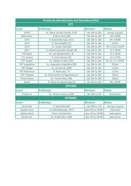 agenda de setembro12 - Sicoob Coopercredi-SP