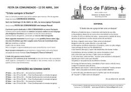 ECO FÁTIMA - Ano B - III Série - N 297