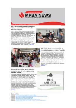 Ano 1 – Nº 031 - Ministério Público do Estado da Bahia