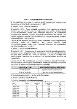 A Comissão Permanente de Licitação da ANAC divulga errata dos