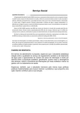 Padrão de resposta SERVIÇO SOCIAL ok
