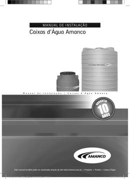 Caixas d`Água Amanco