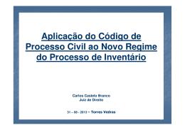 (Microsoft PowerPoint - APLICA\307\303O DO CPC AO NOVO RJPI