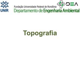 Topografia - Departamento de Engenharia Ambiental