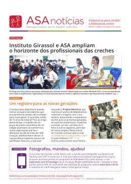 Instituto Girassol e ASA ampliam o horizonte dos profissionais das