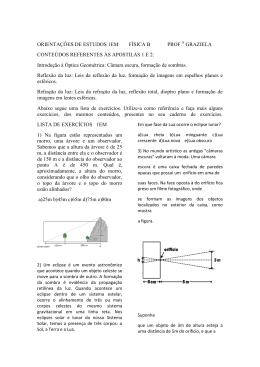 física b - Colégio Guilherme de Almeida
