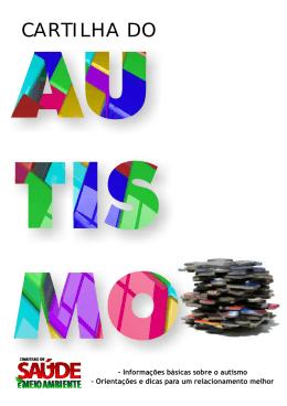 Cartilha do Autismo - Assembléia Legislativa