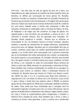ATA N.21 - Catedral de Barretos