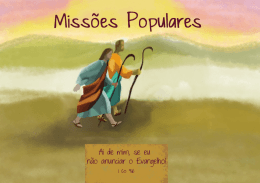 Missões Populares - Arquidiocese de Vitória