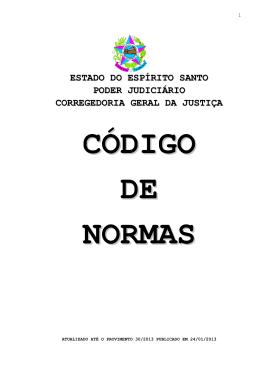 Código de Normas TJ-ES