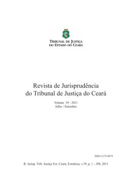 Revista de Jurisprudência - Tribunal de Justiça do Estado do Ceará