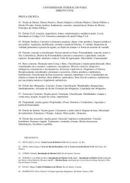 Curso de Direito Civil - Instituto de Ciências Jurídicas