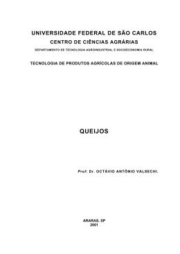 Enciclopédia dos queijos - UFSCar