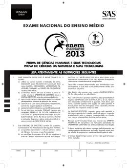PROVA_2oSimulado-SAS-ENEM-1o_dia