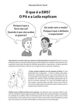 O que é a EMS? O Pit e a Leila explicam