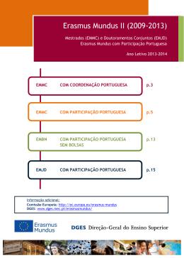 Erasmus Mundus II (2009-2013)