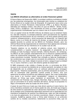 www.adinoel.com Espanhol – Tradução Livre 1/2015 TEXTO Los